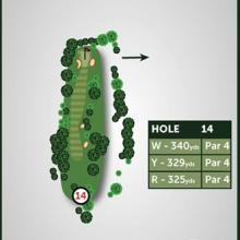 Windmill Hill Golf Club Hole 14