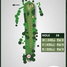 Windmill Hill Golf Club Hole 16
