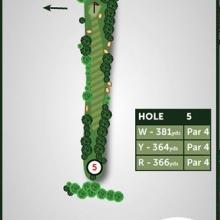 Windmill Hill Golf Club Hole 5