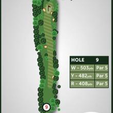 Windmill Hill Golf Club Hole 9